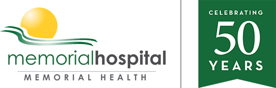 Memorial-Hospital-Jax-50-Year-Logo