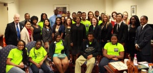 Jax Kids Coalition members meet with Sen. Audrey Gibson