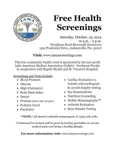 Free Health Screenings Flyer 2014_Page_1